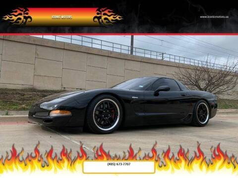 2002 Chevrolet Corvette for sale at Iconic Motors of Oklahoma City, LLC in Oklahoma City OK