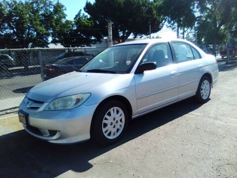 2005 Honda Civic for sale at Larry's Auto Sales Inc. in Fresno CA