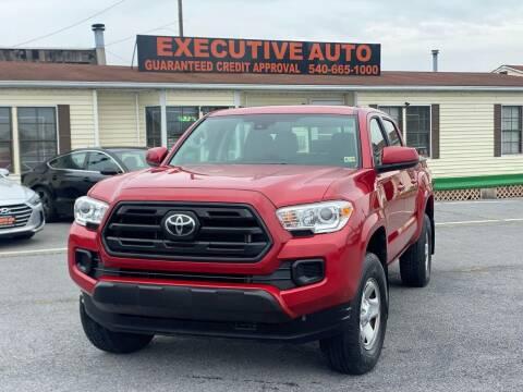 2018 Toyota Tacoma for sale at Executive Auto in Winchester VA