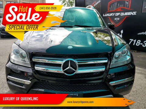 2012 Mercedes-Benz GL-Class for sale at LUXURY OF QUEENS,INC in Long Island City NY