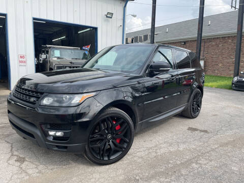 2015 Land Rover Range Rover Sport for sale at Pulse Autos Inc in Indianapolis IN