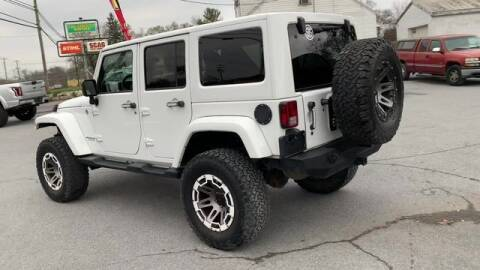 2014 Jeep Wrangler Unlimited for sale at King Motors featuring Chris Ridenour in Martinsburg WV