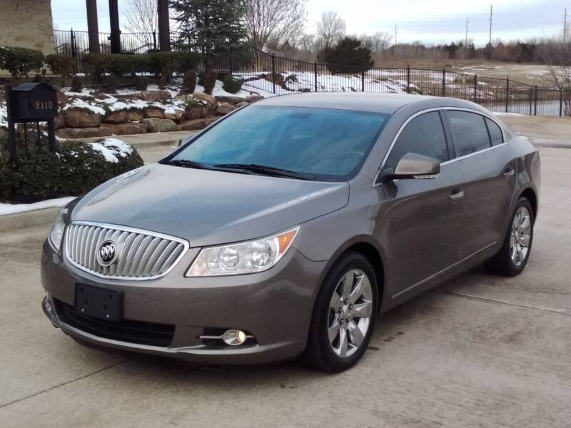 2010 Buick LaCrosse for sale at Red Rock Auto LLC in Oklahoma City OK