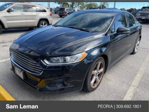 2016 Ford Fusion for sale at Sam Leman Chrysler Jeep Dodge of Peoria in Peoria IL