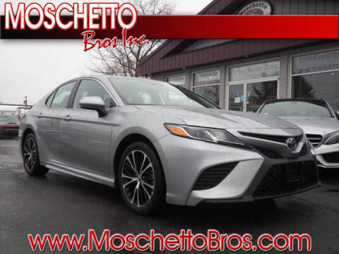 2019 Toyota Camry for sale at Moschetto Bros. Inc in Methuen MA