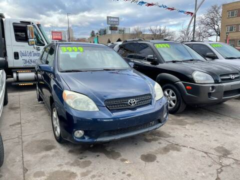 2005 Toyota Matrix for sale at Capitol Hill Auto Sales LLC in Denver CO