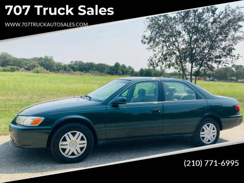 2001 Toyota Camry for sale at 707 Truck Sales in San Antonio TX