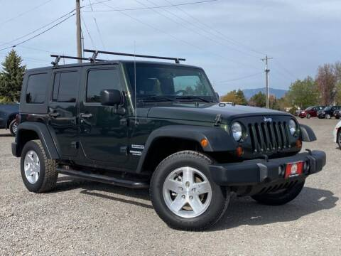 2010 Jeep Wrangler Unlimited for sale at The Other Guys Auto Sales in Island City OR