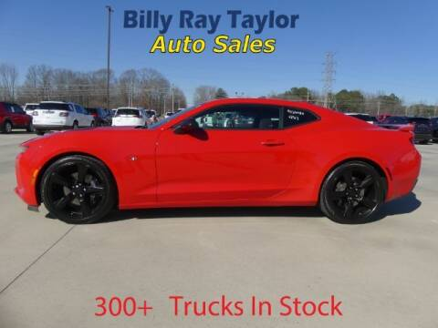 2017 Chevrolet Camaro for sale at Billy Ray Taylor Auto Sales in Cullman AL