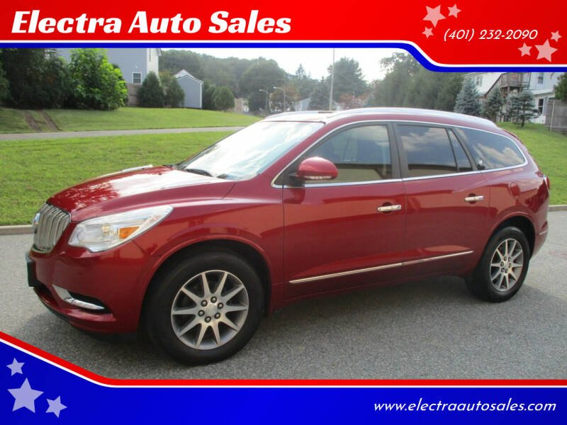 2013 Buick Enclave for sale at Electra Auto Sales in Johnston RI