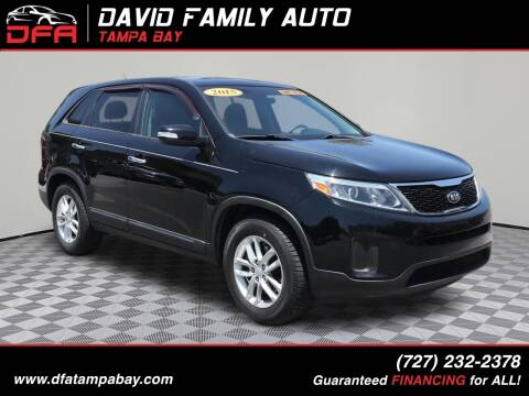 2015 Kia Sorento for sale at David Family Auto in New Port Richey FL
