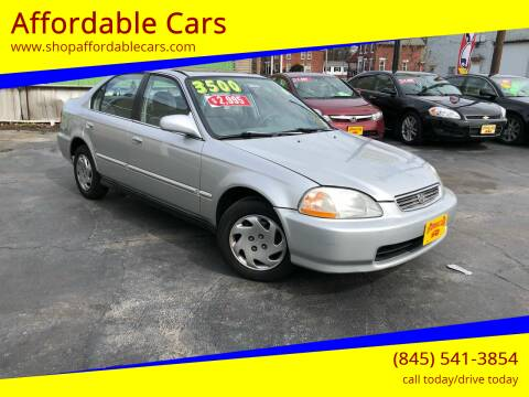 1997 Honda Civic for sale at Affordable Cars in Kingston NY