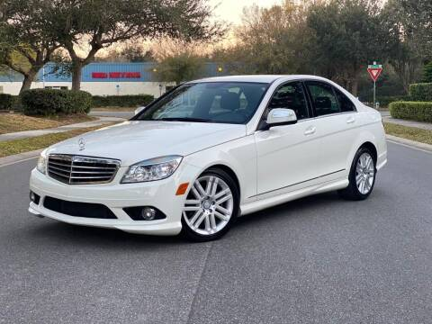 2009 Mercedes-Benz C-Class for sale at Presidents Cars LLC in Orlando FL