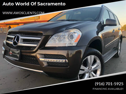 2012 Mercedes-Benz GL-Class for sale at Auto World of Sacramento Stockton Blvd in Sacramento CA