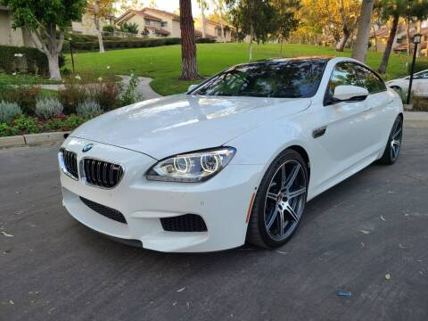 2014 BMW M6 for sale at E MOTORCARS in Fullerton CA