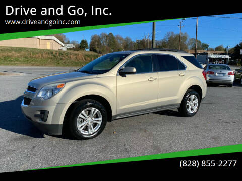 2012 Chevrolet Equinox for sale at Drive and Go, Inc. in Hickory NC