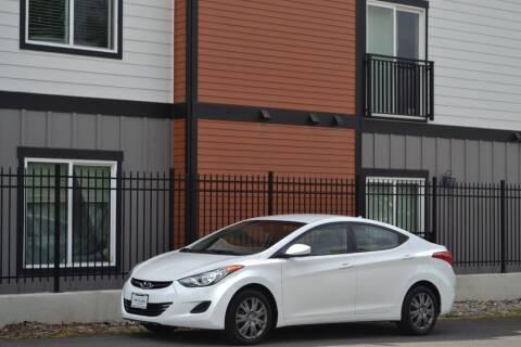 2011 Hyundai Elantra for sale at Skyline Motors Auto Sales in Tacoma WA