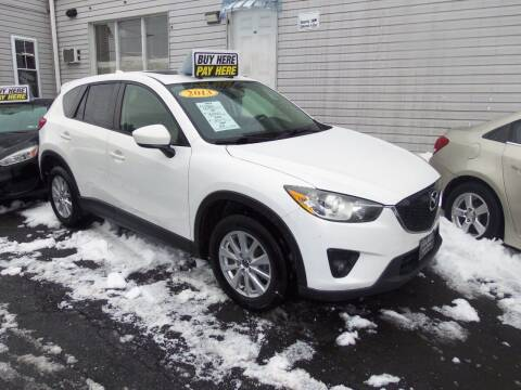 2013 Mazda CX-5 for sale at Fulmer Auto Cycle Sales - Fulmer Auto Sales in Easton PA