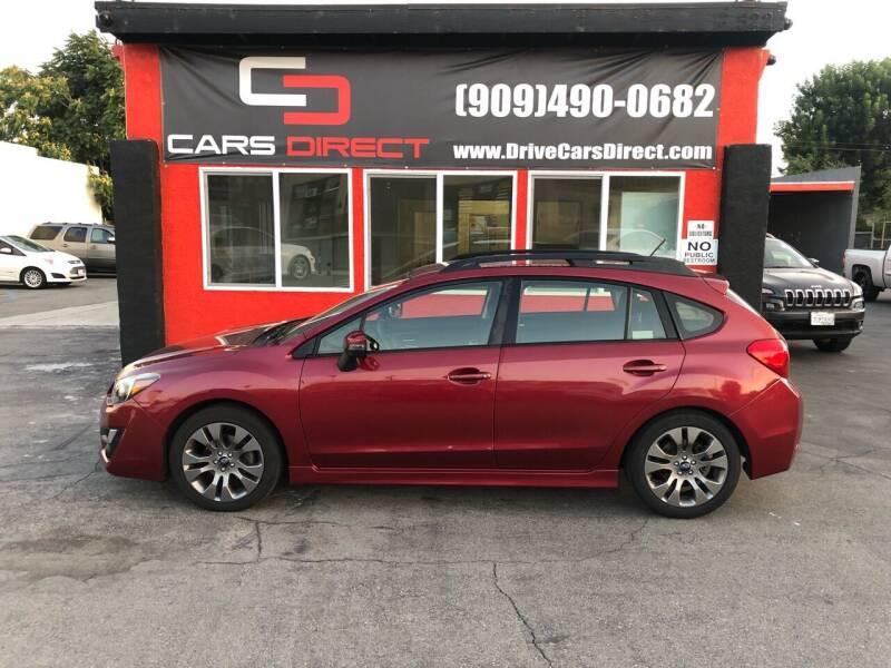 2015 Subaru Impreza for sale at Cars Direct in Ontario CA