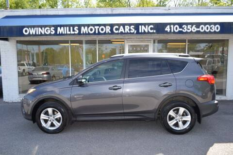 2013 Toyota RAV4 for sale at Owings Mills Motor Cars in Owings Mills MD