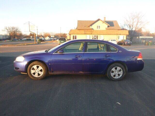 2007 Chevrolet Impala for sale at JIM WOESTE AUTO SALES & SVC in Long Prairie MN