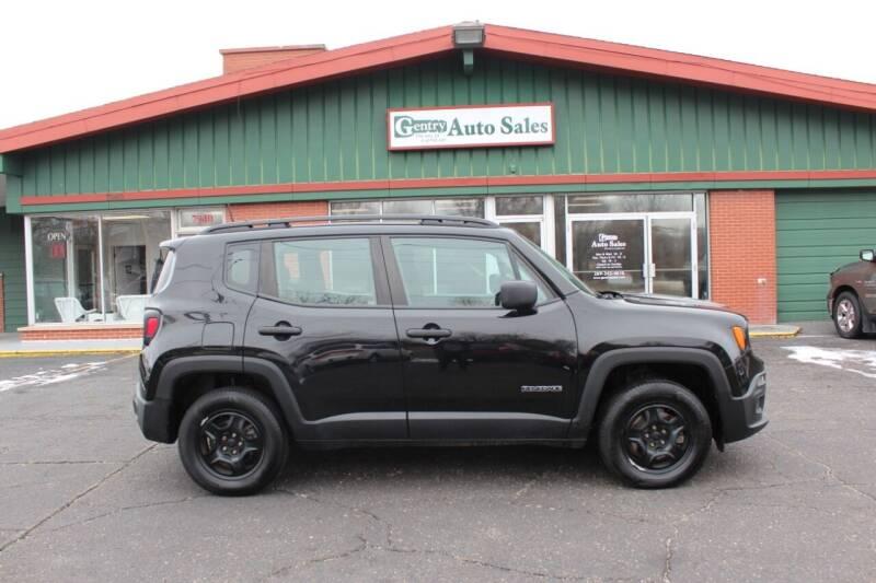 2015 Jeep Renegade for sale at Gentry Auto Sales in Portage MI