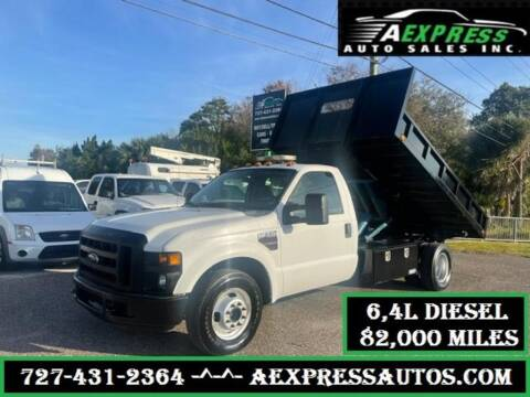 2009 Ford F-350 Super Duty for sale at A EXPRESS AUTO SALES INC in Tarpon Springs FL