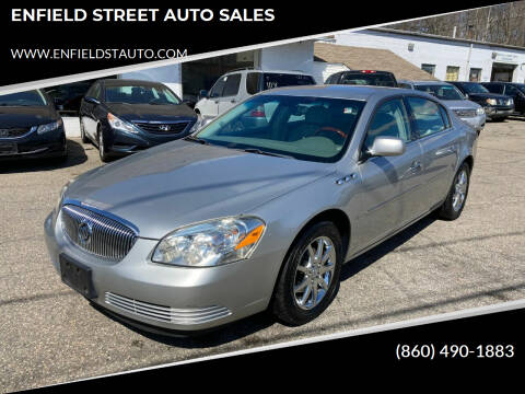 2008 Buick Lucerne for sale at ENFIELD STREET AUTO SALES in Enfield CT