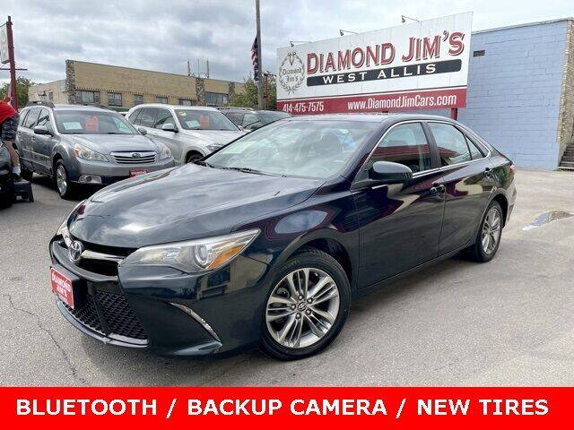 2017 Toyota Camry for sale at Diamond Jim's West Allis in West Allis WI