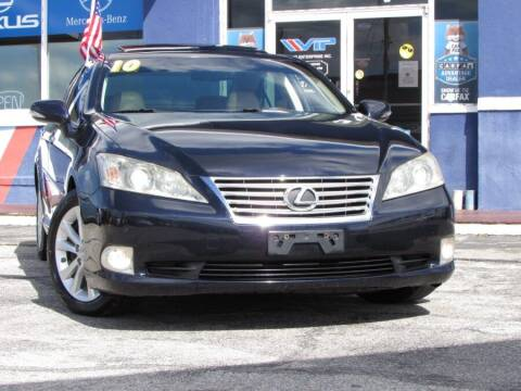 2010 Lexus ES 350 for sale at VIP AUTO ENTERPRISE INC. in Orlando FL