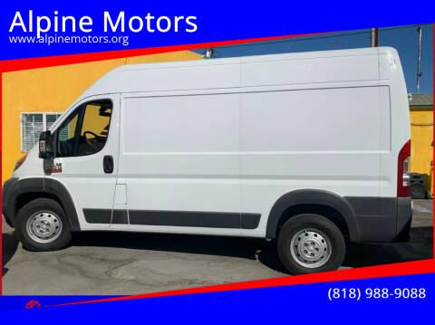 2015 RAM ProMaster Cargo for sale at Alpine Motors in Van Nuys CA