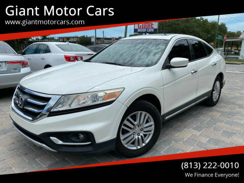 2013 Honda Crosstour for sale at Giant Motor Cars in Tampa FL