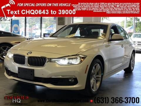2017 BMW 3 Series for sale at CERTIFIED HEADQUARTERS in Saint James NY
