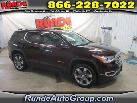 2017 GMC Acadia for sale at Runde Chevrolet in East Dubuque IL