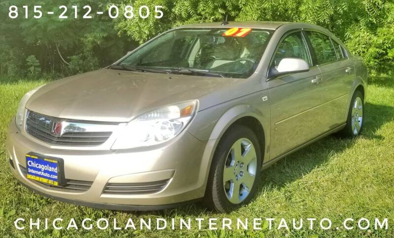 2007 Saturn Aura for sale at Chicagoland Internet Auto - 410 N Vine St New Lenox IL, 60451 in New Lenox IL