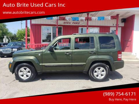 2009 Jeep Liberty for sale at Auto Brite Used Cars Inc in Saginaw MI