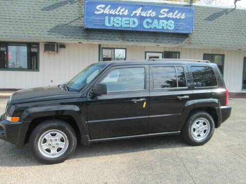 2008 Jeep Patriot for sale at SHULTS AUTO SALES INC. in Crystal Lake IL