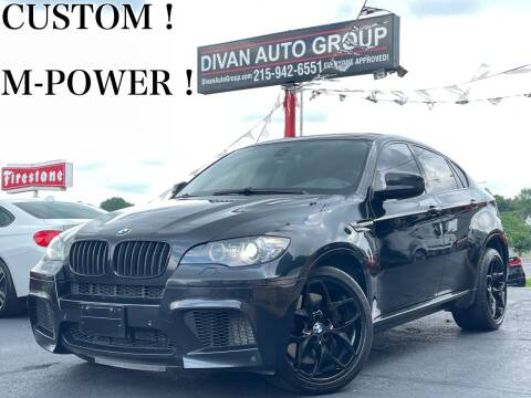 2011 BMW X6 M for sale at Divan Auto Group in Feasterville Trevose PA