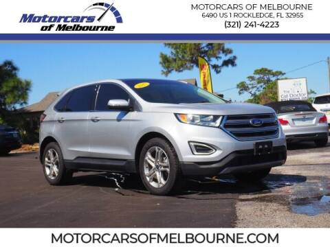 2017 Ford Edge for sale at Motorcars of Melbourne in Rockledge FL