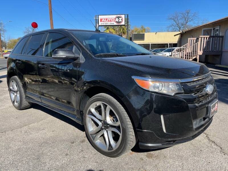 2013 Ford Edge for sale at Auto A to Z / General McMullen in San Antonio TX
