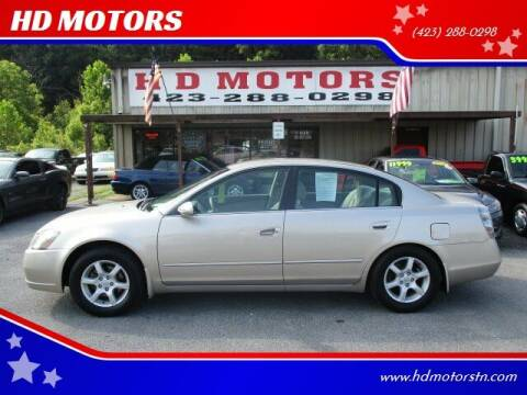 2005 Nissan Altima for sale at HD MOTORS in Kingsport TN
