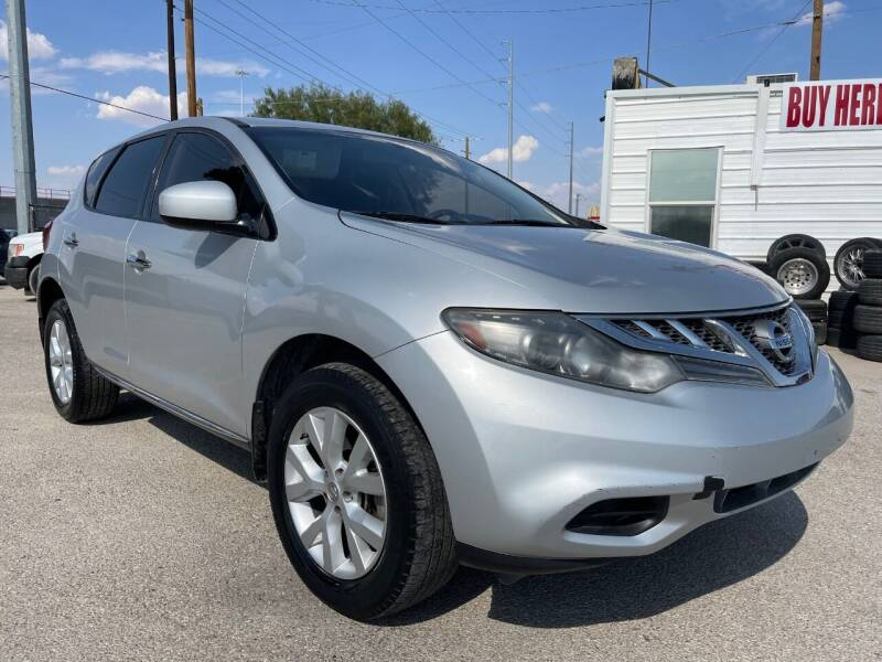 2014 Nissan Murano for sale at Eastside Auto Sales in El Paso TX