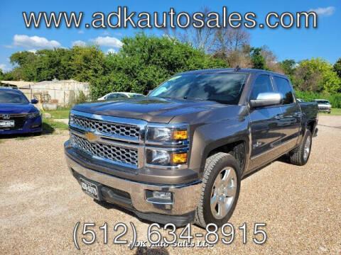 2014 Chevrolet Silverado 1500 for sale at ADK AUTO SALES LLC in Austin TX