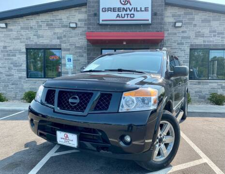 2013 Nissan Armada for sale at GREENVILLE AUTO in Greenville WI