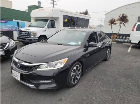 2016 Honda Accord for sale at AutoDeals in Daly City CA