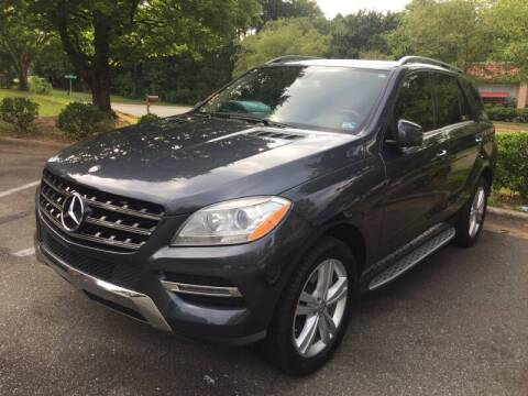 2014 Mercedes-Benz M-Class for sale at Triangle Motors Inc in Raleigh NC