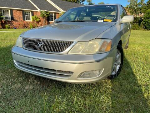 2001 Toyota Avalon for sale at County Line Car Sales Inc. in Delco NC