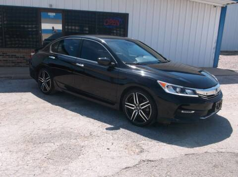 2017 Honda Accord for sale at AUTO TOPIC in Gainesville TX