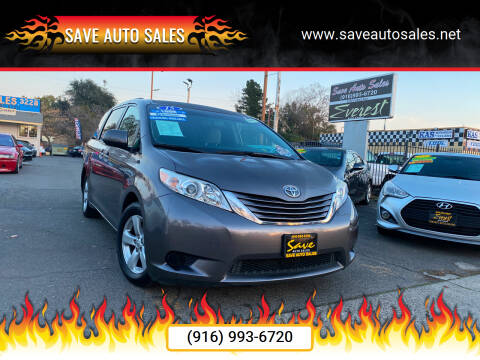 2015 Toyota Sienna for sale at Save Auto Sales in Sacramento CA