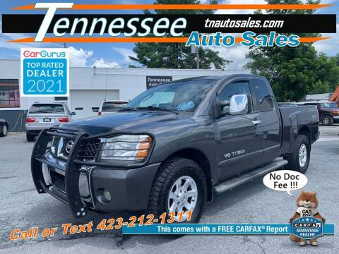 2005 Nissan Titan for sale at Tennessee Auto Sales in Elizabethton TN